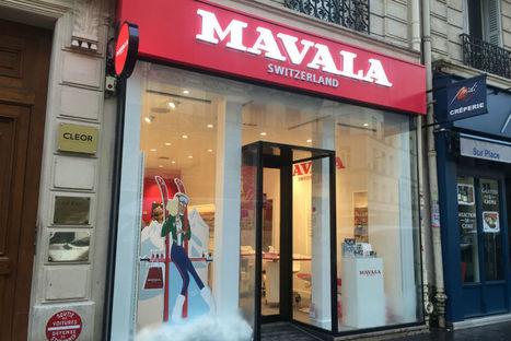 Les premières images de la boutique Mavala | Marketing et Promotions | Scoop.it