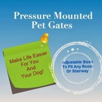 Pressure Mounted Pet Gates | Pressure Mounted Pet Gates | Scoop.it