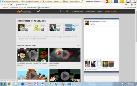 GoAnimate: animación para todos | Didaweb: Recursos didácticos e innovaciones educativas | Scoop.it