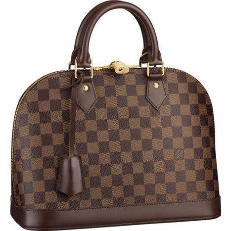 Louis Vuitton Outlet Alma Damier Ebene Canvas N53151 Handbags For Sale,70% Off | loui vuitton outlet online_lvbagsatusa.com | Scoop.it