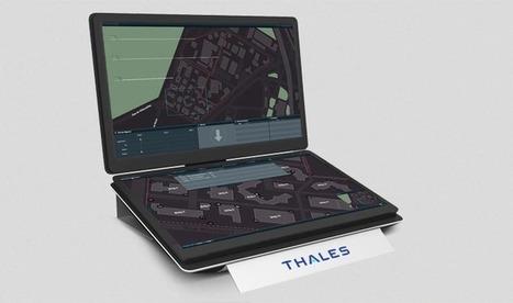 Thales - Hypervisor Multitouch : poste de supervision interactif tactile   Cabinet de curiosités numériques   Scoop.it
