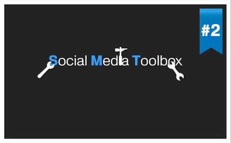 "La ""Social Media Toolbox"" du Community Manager ver 2 