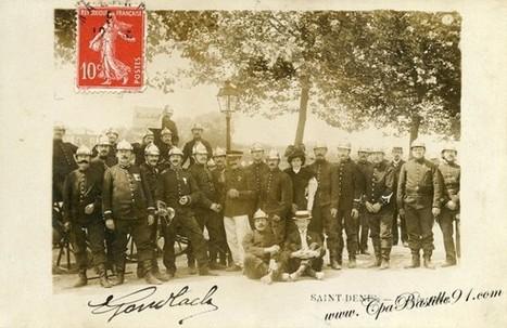 CPA – Les Pompiers de Malakoff à Saint-Denis le 7 juin 1908 | Cartes Postales Anciennes | GenealoNet | Scoop.it