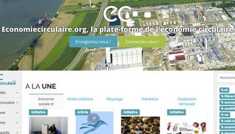 Ouverture d'une plateforme dédiée à l'économie circulaire | Territoires Digitaux | Scoop.it