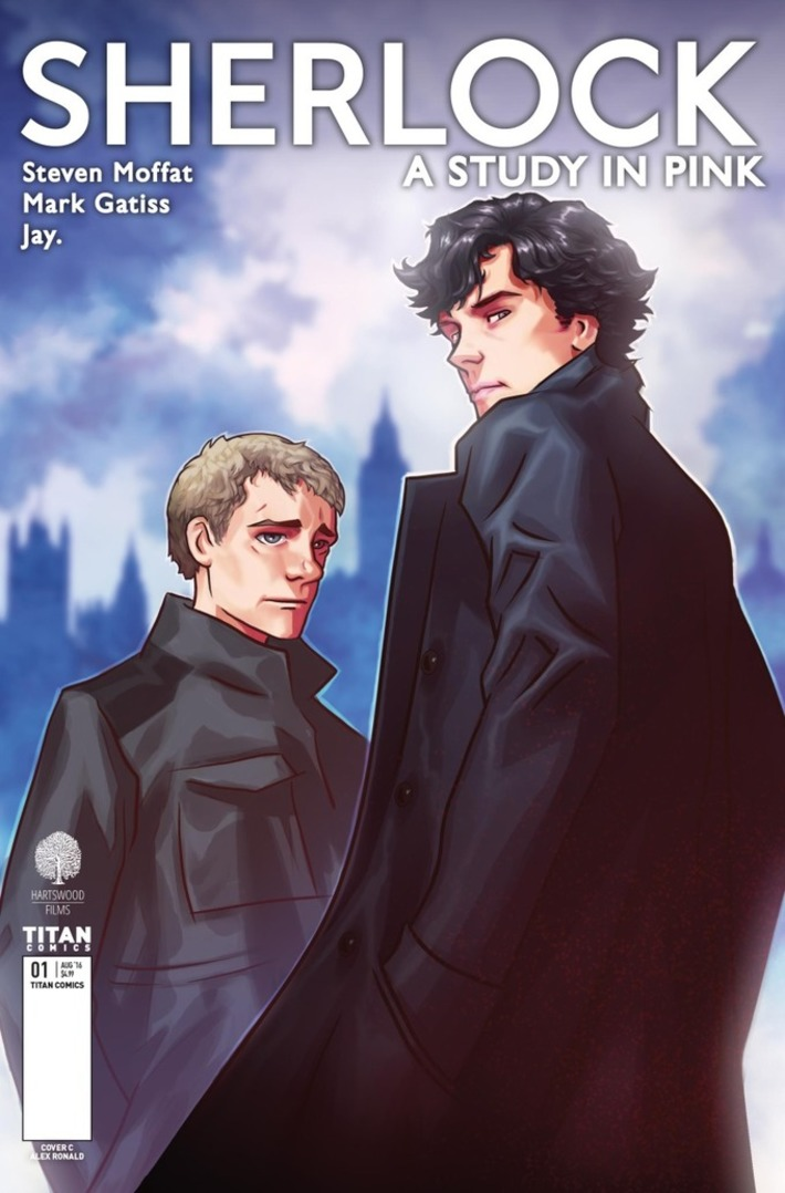 The Sherlock Manga Is Coming to America, and Here's Your First Look | Machinimania | Scoop.it