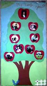 My Family Tree craft for kids | Change and continuity | Scoop.it