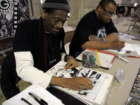 Black Comic Book Day at Detroit library draws a different perspective - The Detroit News | SocialLibrary | Scoop.it