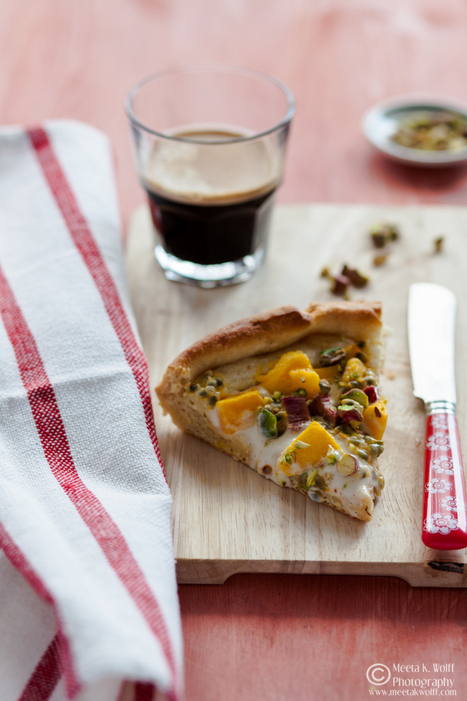 What's For Lunch Honey?   Experience Your Senses: Rhubarb Mango and Passion fruit Brioche Galette   Food delight   Scoop.it