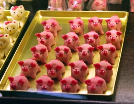 Marzipan Pigs Are the Sweetest Way to Celebrate New Year's in Germany | German learning resources and ideas | Scoop.it