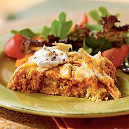 Chicken Tamale Casserole | MyRecipes.com | healthy eatings | Scoop.it