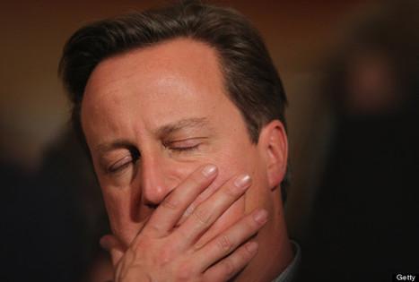 David Cameron dozy off through William Hague Conservative Part Conference Speech   myproffs.co.uk - Technology   Scoop.it