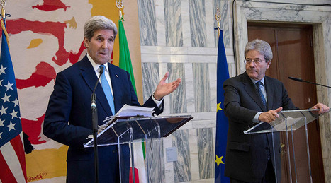 'You created ISIS!' Press conference scandal mars Kerry's visit to Italy | Saif al Islam | Scoop.it