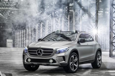 Mercedes-Benz Concept GLA: basta con la solita routine | Mercedes-Benz GLA | Scoop.it