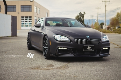 Custom Matte Black BMW 650i By SR Auto Group - Top Cars   Damn It's Awesome   Scoop.it