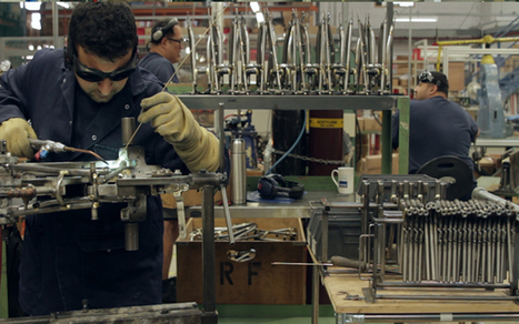 Brompton bikes: how the fold-up bicycles are made - Telegraph | JournEdu | Scoop.it