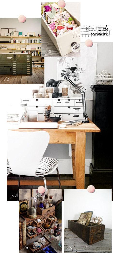 meubles à tiroirs | PLUMETIS Magazine | VintageAddict | Scoop.it