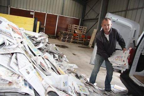 Loudéac. Breizh-cell, l'entreprise qui recycle des journaux pour isoler les maisons, s'installe | Je, tu, il... nous ! | Scoop.it