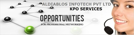 Aldiablos Infotech Pvt Ltd KPO Services the Growing Market | Aldiablos Infotech Pvt Ltd Services | Scoop.it