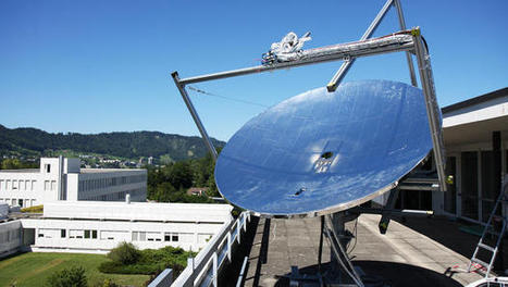These Massive Mirrored Dishes Could Make Solar Cheaper For All | Sustain Our Earth | Scoop.it