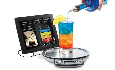 Maîtrisez les cocktails avec cette balance connectée | Télégestion et autre domotique | Scoop.it