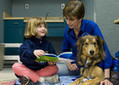 Children read to dogs at Woodford library | Woodford County | Kentucky.com | GIBSIccURATION | Scoop.it