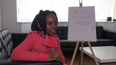 Royaume-Uni : Esther, 10 ans et déja en licence de mathématiques | Science | Scoop.it