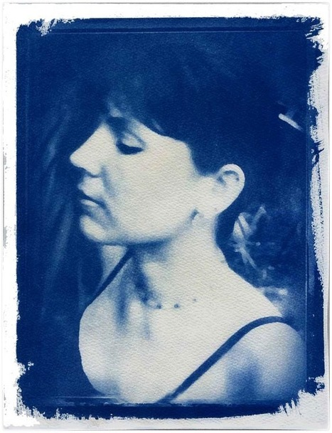 """""""One Of My Cyanotype Portaits…""""   christian harkness – photo blog   Alternative photography   Scoop.it"""
