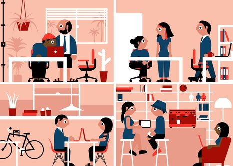 Co-working spaces can benefit corporations as well as startups | @liminno | Scoop.it