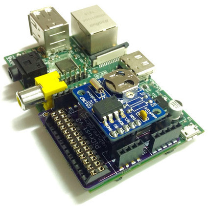 Pi Crust - Easily Connect Electronics To Your Raspberry Pi by Pi Supply | Raspberry Pi | Scoop.it