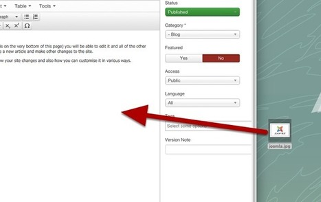 Joomla 3.5 Will Have Drag-and-Drop Image Adding | Just Joomla! | Scoop.it