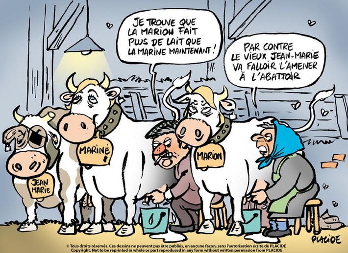36% des agriculteurs sont enclins a voter FN | Baie d'humour | Scoop.it