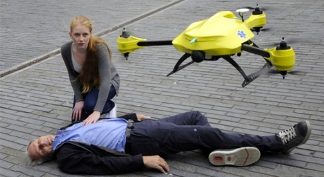 Ambulance Drone Delivers First Aid Supplies on Demand | Inspired By Design | Scoop.it