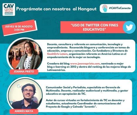 Uso de twitter en el aula de clase | Joanna Prieto - Comunicación Estratégica | Scoop.it
