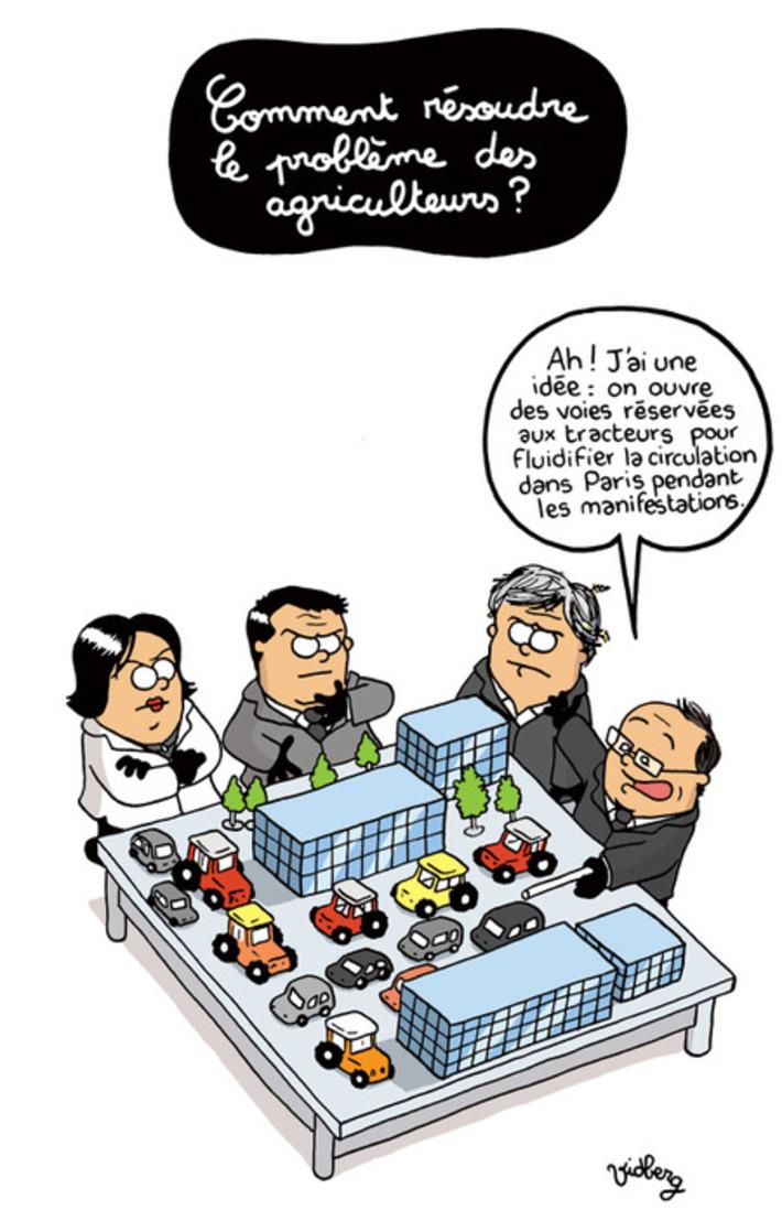 Comment résoudre le problème des agriculteurs ? | Baie d'humour | Scoop.it
