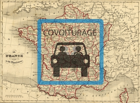 Carte des aires de covoiturage en France | Chuchoteuse d'Alternatives | Scoop.it