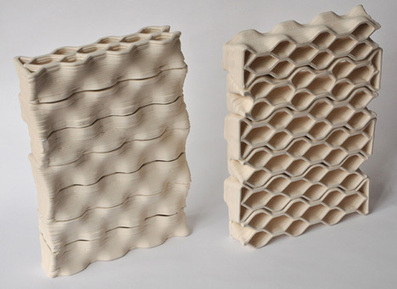Building Bytes 3D printed bricks by Brian Peters at Dutch Design Week | FabLab today | Scoop.it