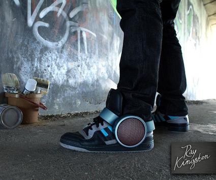 Marchez en musique avec la Sneaker Speaker | Rap , RNB , culture urbaine et buzz | Scoop.it