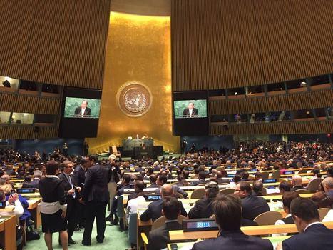 Le Changement Climatique domine la session d'ouverture de la 71ème Assemblée Générale des Nations Unies   Innovations francophones   Scoop.it