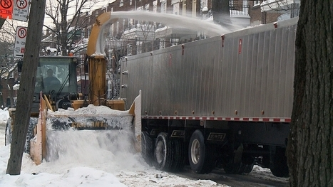 Montreal's massive snow-clearing effort wraps today - Montreal - CBC News | Local Montreal Scene | Scoop.it