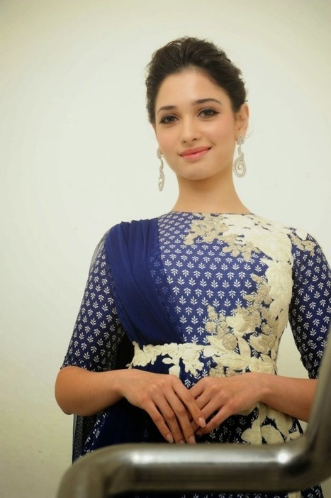 Actress Tamanna in Trendy Style Floral Anarkali Dress for Girls, Fashion Trends 2014-15, Actress, Indian Fashion, Tollywood   CHICS & FASHION   Scoop.it