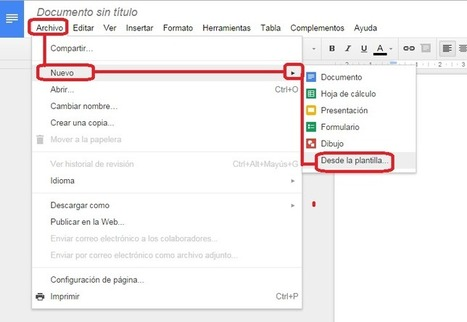 Cómo encontrar plantillas útiles para Google Drive | Al calor del Caribe | Scoop.it
