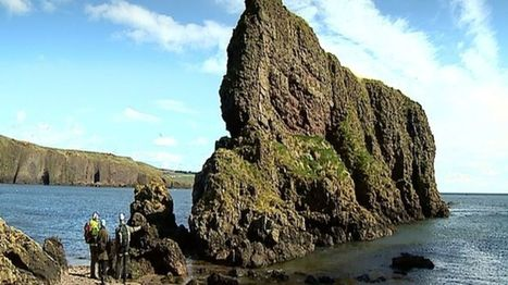 'Significant' Pictish fort found off Aberdeenshire coast - BBC News | My Scotland | Scoop.it