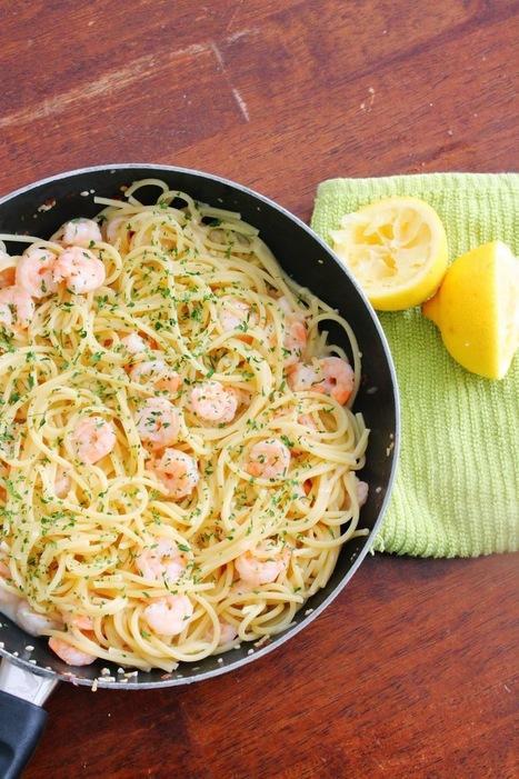 Bent Philipson Chef ,The Happy Flammily: 15 Minute Shrimp Scampi | Bent Philipson Chef | Scoop.it