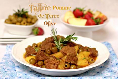 tajine de pomme de terre aux olives   cuisine algerienne et recettes de ramadan   Scoop.it
