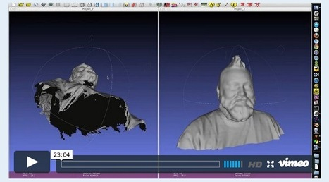 3ders.org - Step by step tutorial to fix a 3D scan for 3D printing | 3D Printing news | Nasjoe Interest | Scoop.it