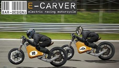 E-Carver Electric Racebike Concept ~ Grease n Gasoline | Cars | Motorcycles | Gadgets | Scoop.it