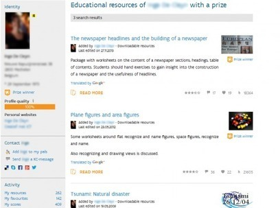 Social networking affordances for open educational language practice | Open Educational Practices | Scoop.it