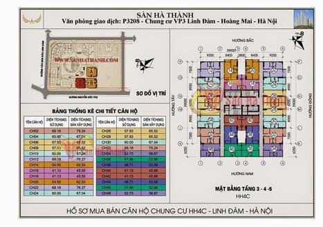 Sơ đồ tổng quan dự án chung cư HH4C Linh Đàm Hoàng Mai - Chung cư Linh Đàm Hoàng Mai | MÁY BƠM CÔNG NGHIỆP - MÁY BƠM HÚT BÙN | Scoop.it