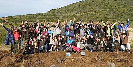Ajaccio : Les scolaires replantent des tamaris à La Parata - Corse Net Infos | Le développement durable en Corse | Scoop.it