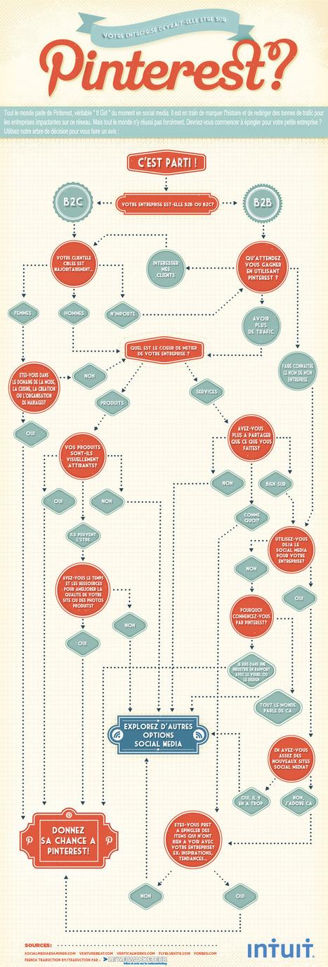 Pinterest - Pourquoi pas vous! parcourrez l'arbre de décision! | Accélérateur de la performance des entreprises du Morbihan | Scoop.it